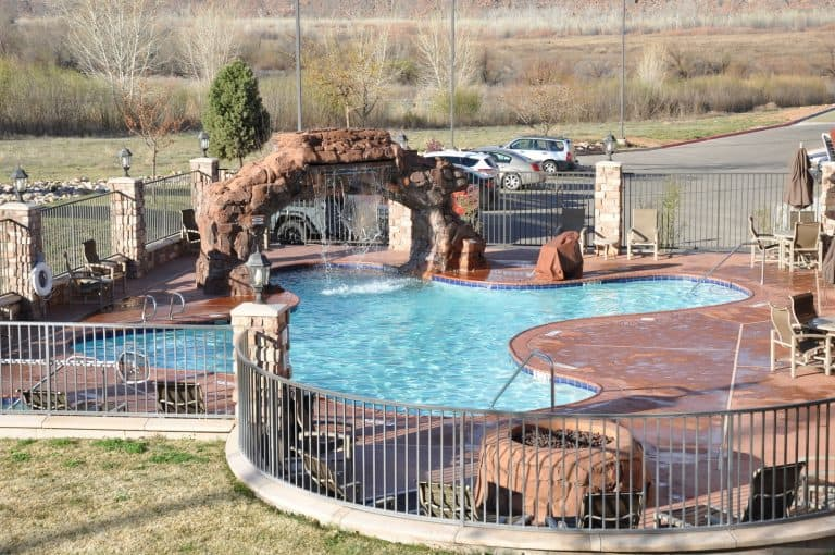 Pool at Holiday Inn Express Moab