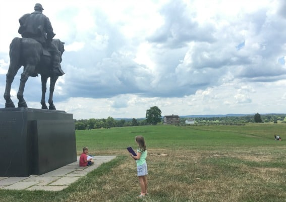 field trip tips to Northern Virginia Manassas National Battlefield Park