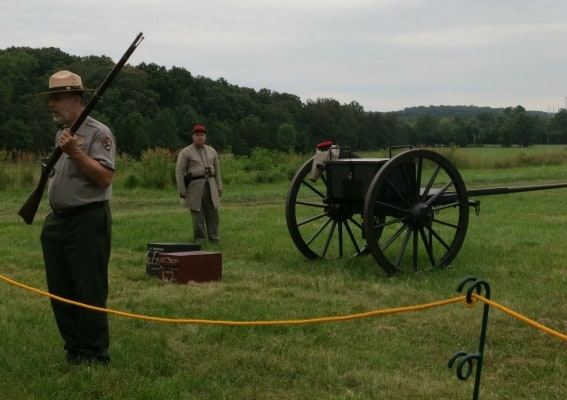 field trip tips to Northern Virginia Manassas National Battlefield Ranger