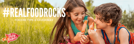 #REALFOODROCKS Foodie Tips and Real Food Giveaway