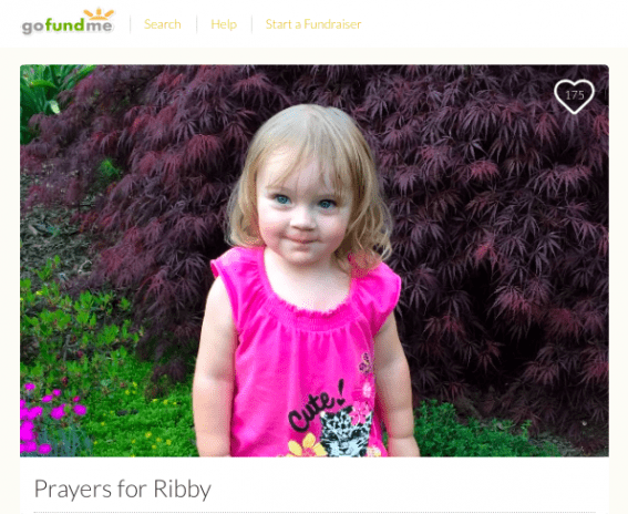 Donate to #PrayersForRibby