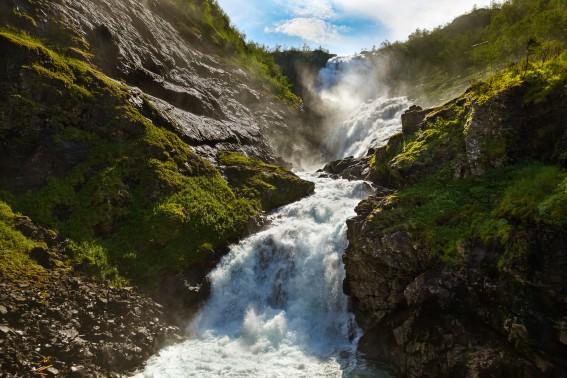 Flam Waterfall