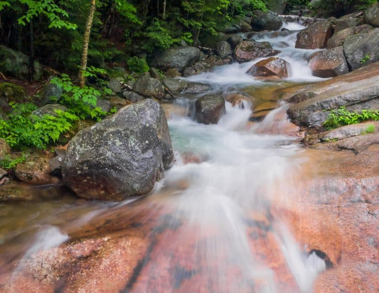 Franconia Notch is one of the best state parks in the USA