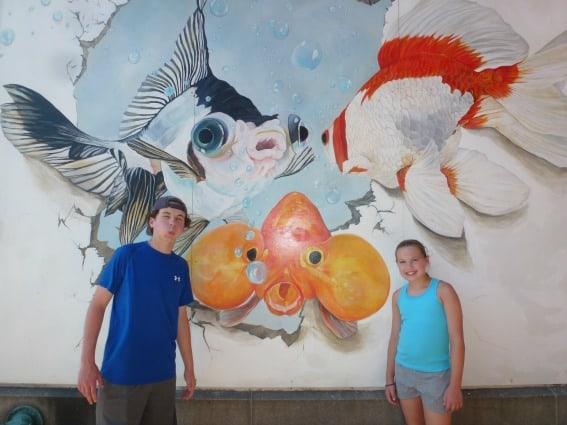 Rutland Fish Mural