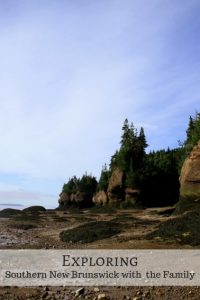 Bay of Fundy with kids