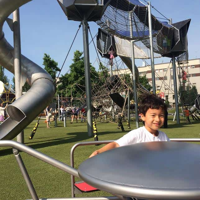 Explore the Seattle artists playground in downtown Seattle