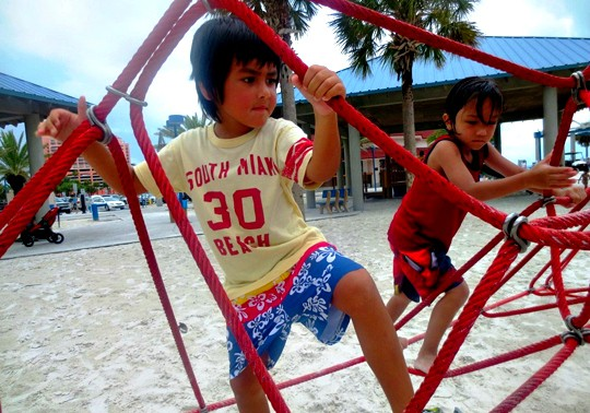 Clearwater Beach, Florida with Kids