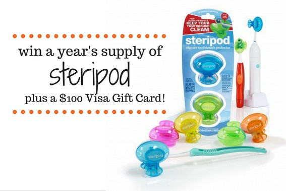 Steripod Giveaway Enter to win a year's supply of steripod and a $100 Visa Gift Card