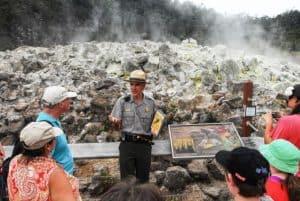 Sulfer Banks at Hawaii Volcanoes National Park