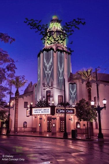 Disney HalloweenTime California Adventure Carthay Circle