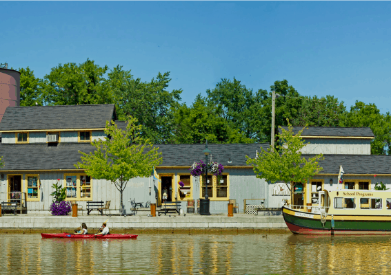 Erie Canal Courtesy of Sheridan Vincent Photography