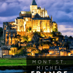 Visiting Mont St. Michel, France with Kids 1