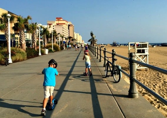 virginia-beach-boardwalk-scooter