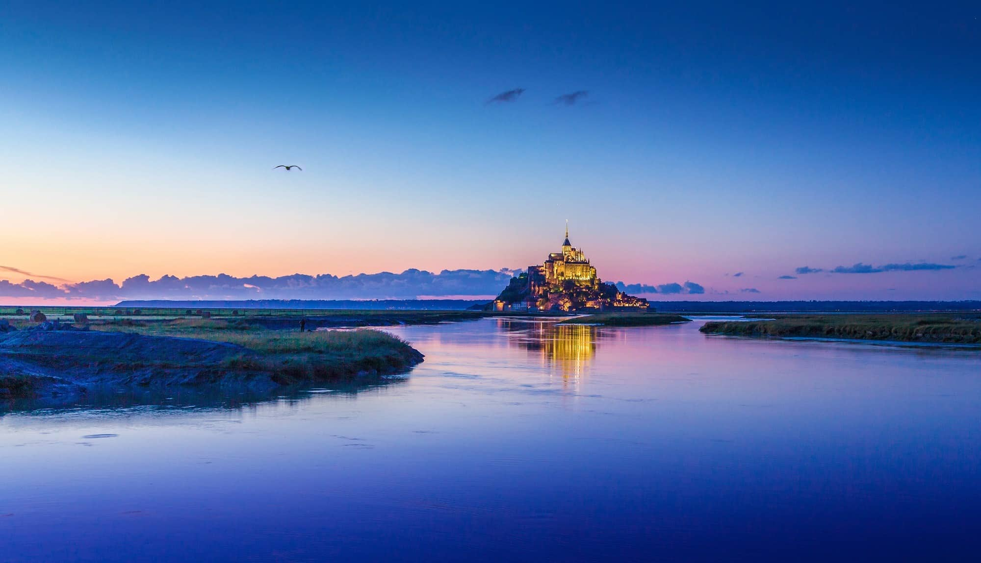 Visiting Mont St. Michel, France with Kids