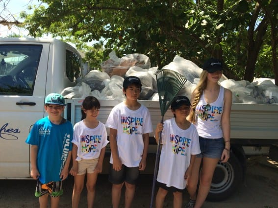 Voluntourism in Jamaica - Beach Clean Up