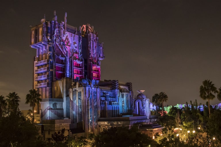 Halloween at Disneyland rides include Guardians of the Galaxy Monsters after Dark