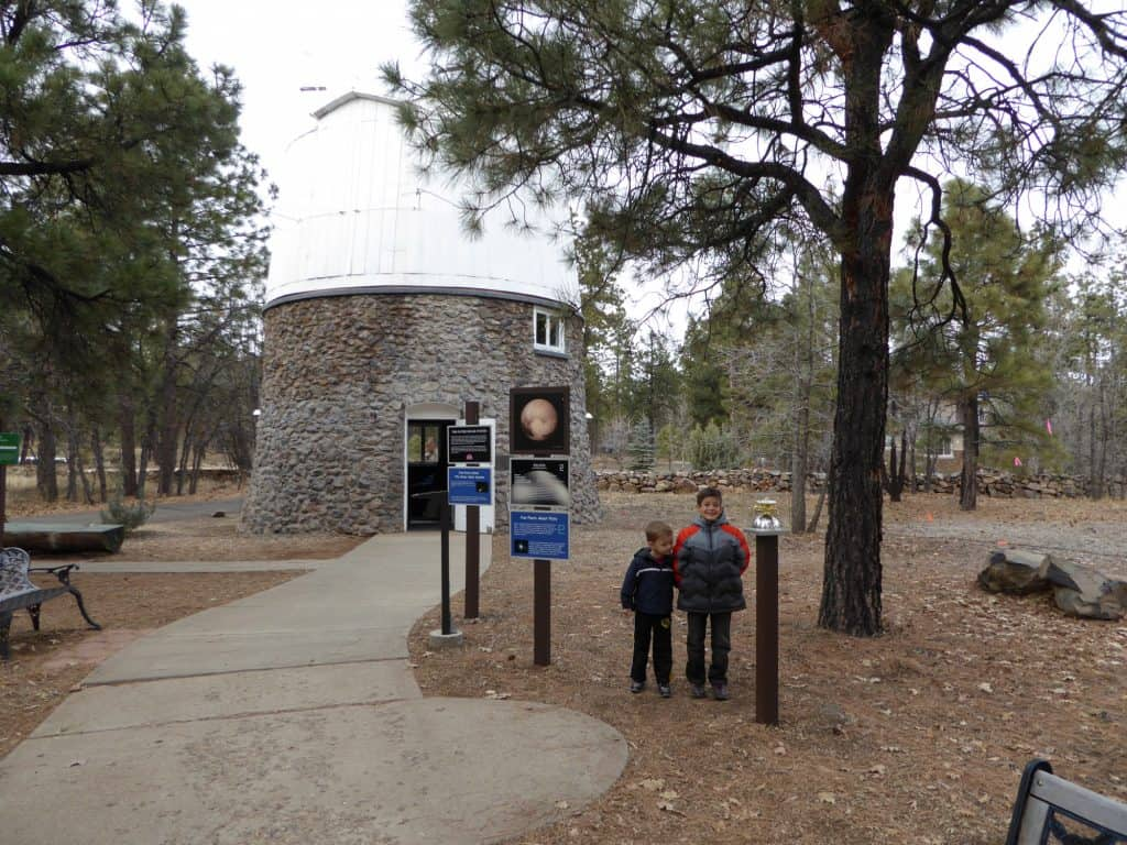 things-to-do-in-flagstaff-with-kids include the Lowell Observatory