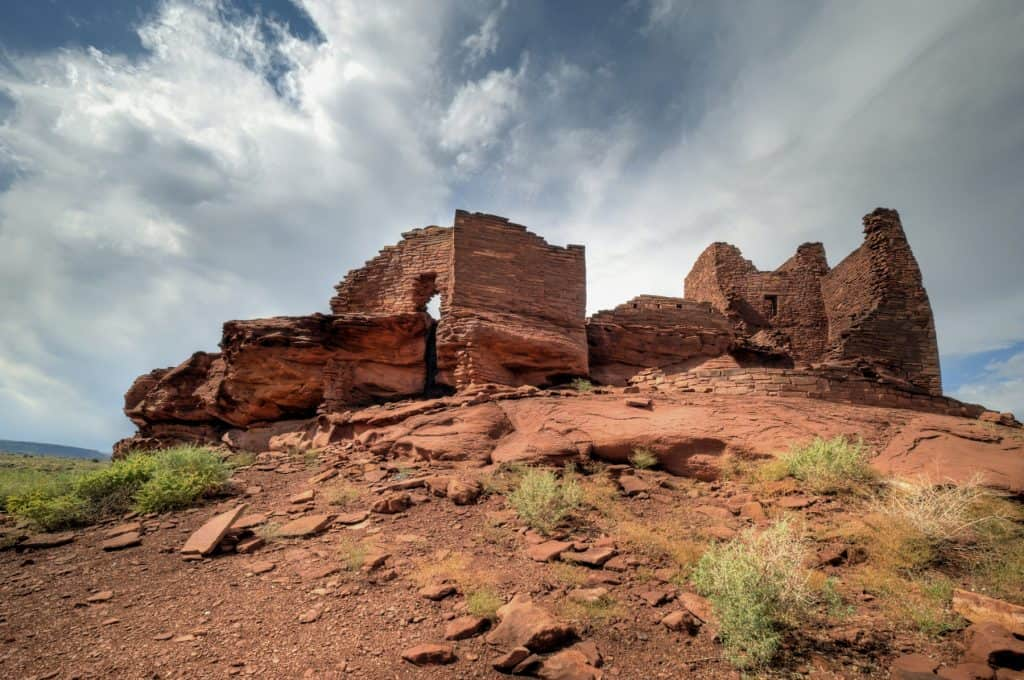 Wuptaki National Monument near Flagstaff