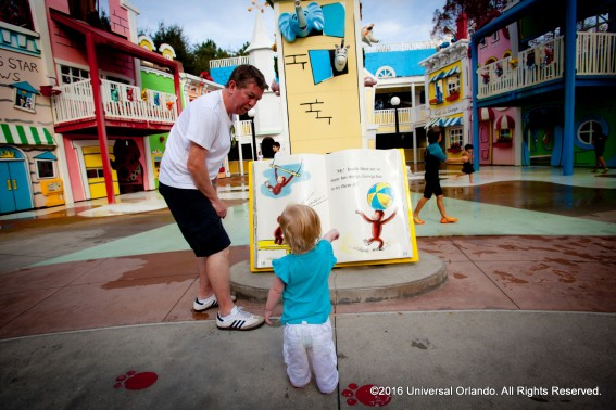 What to do with very little kids at Universal Orlando