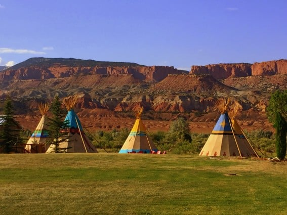 Where to stay inside Capitol Reef National Park: Capitol Reef Resort