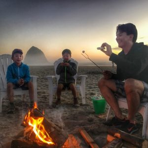 Exploring Cannon Beach Oregon with Kids