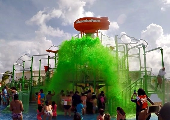 slime-at-nickelodeon-punta-cana-aqua-nick