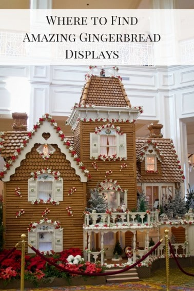 Where to find amazing gingerbread displays for kids, and where to eat the holiday treats.