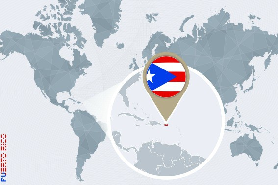Puerto Rico Map Bigstock/boldg