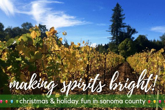 christmas and holiday activities in santa rosa california