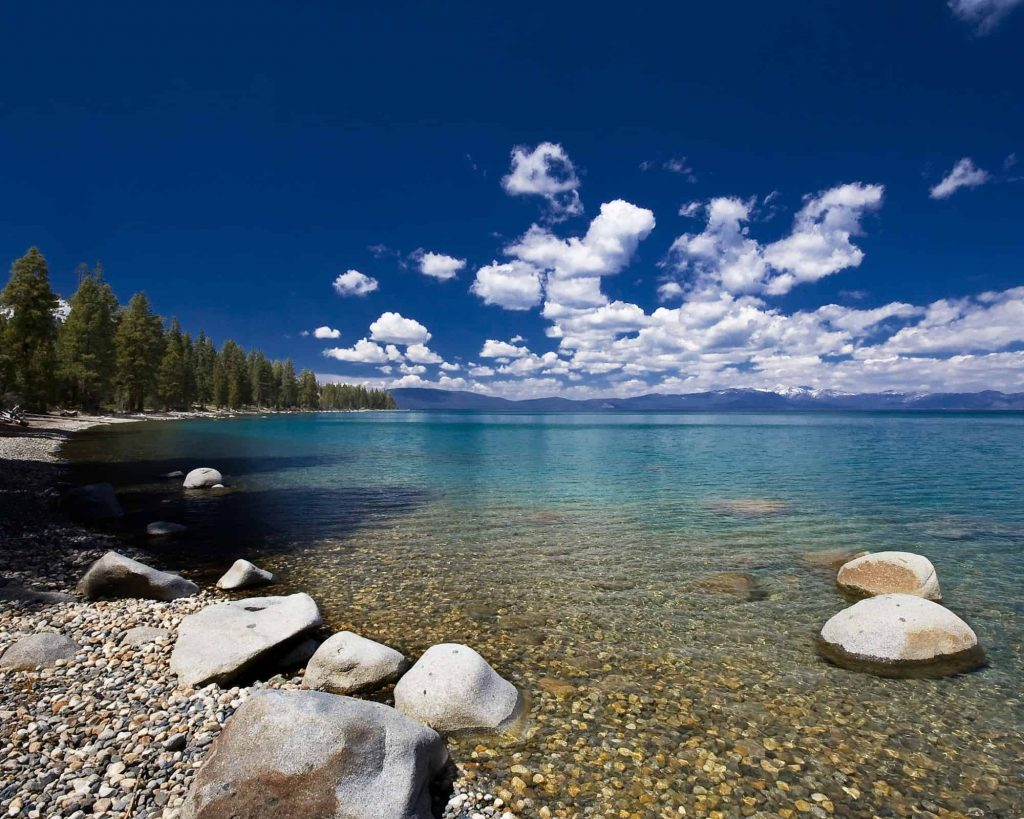 Lake Tahoe's Emerald Bay is a great place to visit in California
