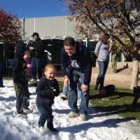 snow arizona science center holiday phoenix