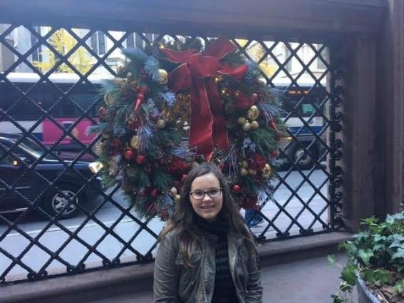 Christmas shopping in NYC: Amazing decor