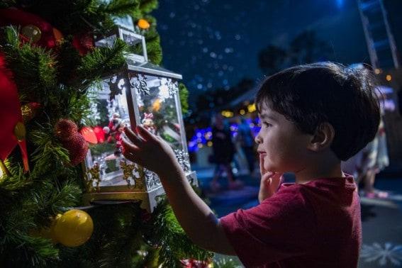 Disney Springs Holiday Christmas Tree Trail