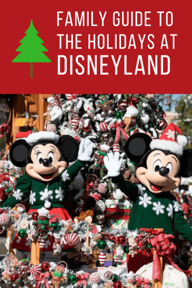 Guide to the holidays at disneyland