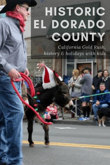 Enjoy a California Gold Rush Getaway this winter in El Dorado County as you explore explore Folsom, Placerville, Coloma, & Camino.