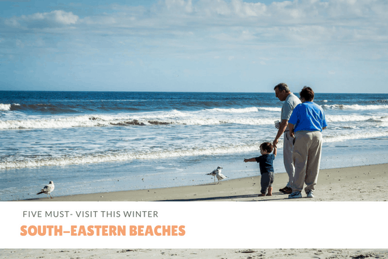 Southeastern beaches to visit this winter