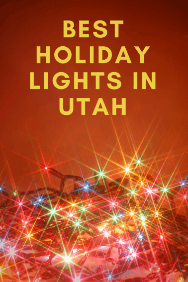 best holiday lights in utah