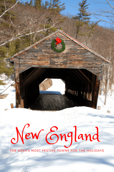 new england's most festive towns for christmas
