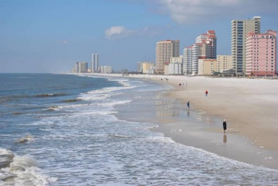 Best beaches to visit in the winter: orange beach alabama