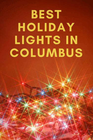 places to view christmas lights in columbus