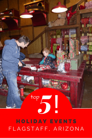 top 5 holiday events for families near flagstaff arizona