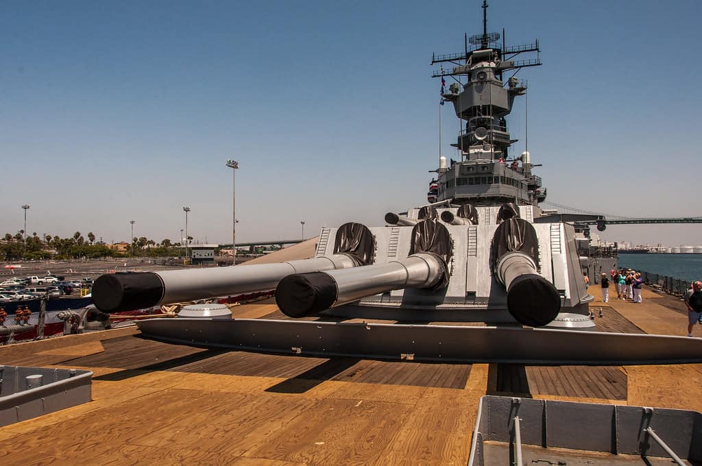 battleship iowa San Pedro