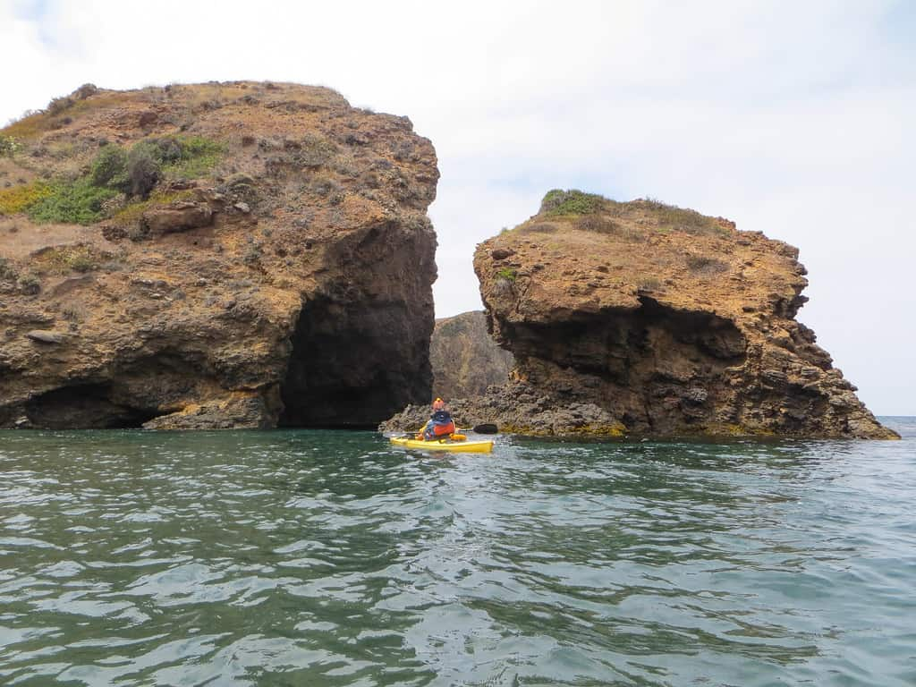 channel Islands kayaking photo