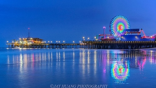 Santa Monica california photo