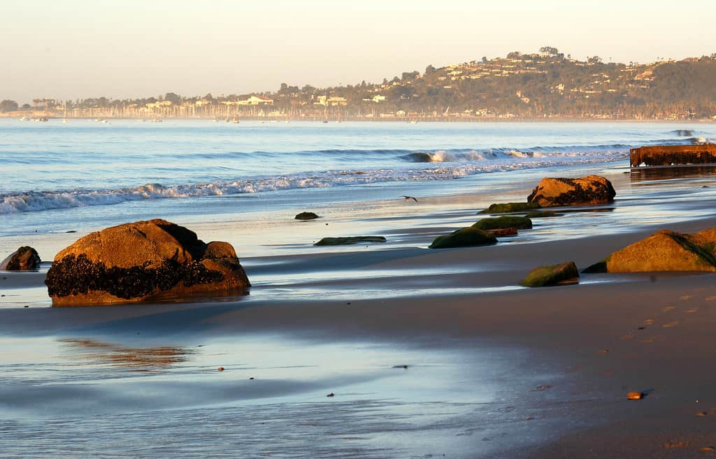 Spending time at the beach is one of the best things to do in Santa Barbara with kids