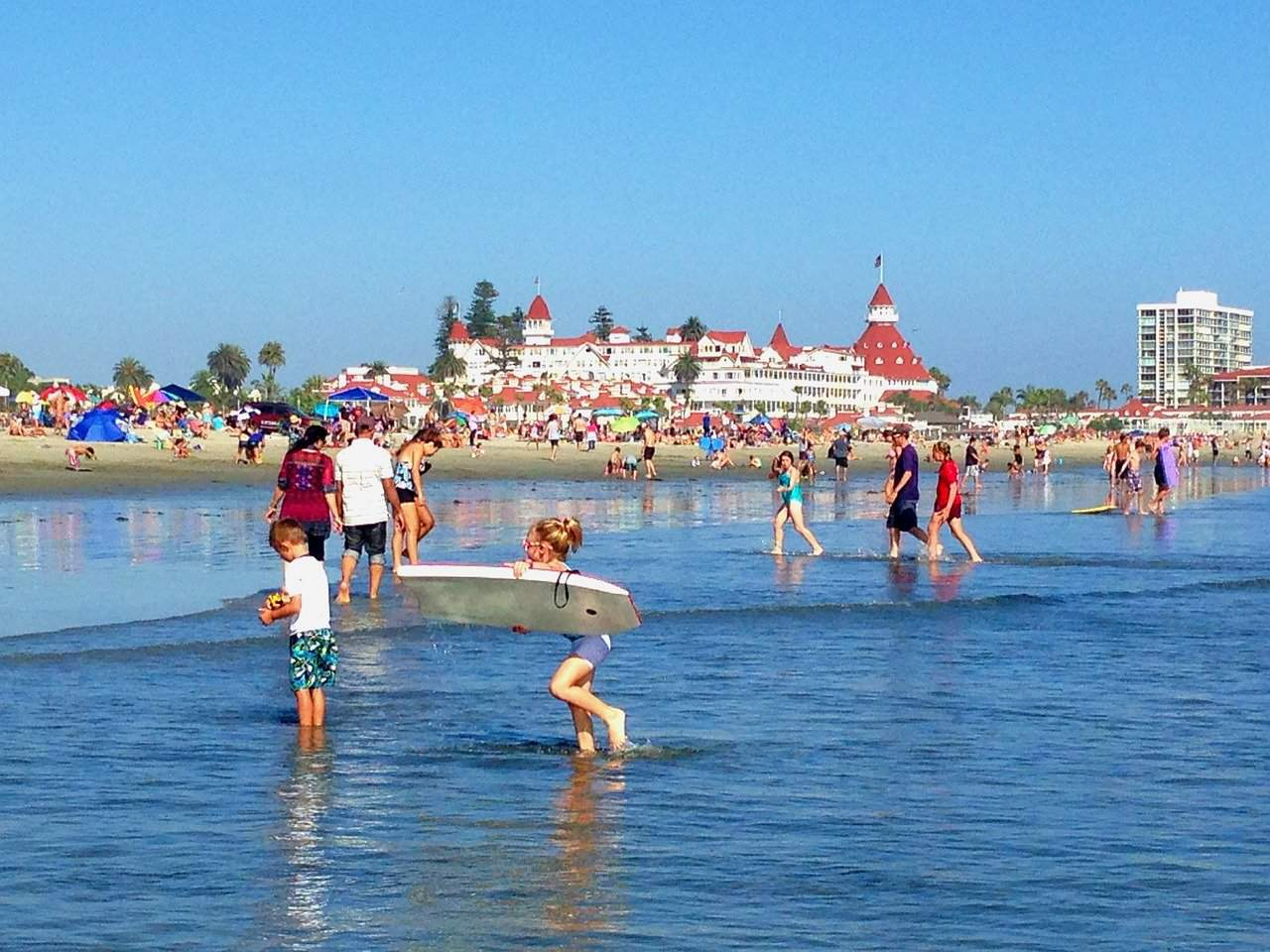 hotel del coronado is one of the best places to visit in San Diego with kids