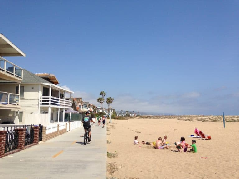 best beaches in southern California for families Newport