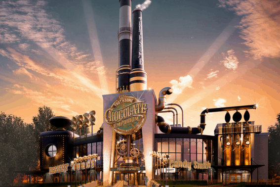 The Chocolate Emporium, coming new to Universal Orlando in 2017