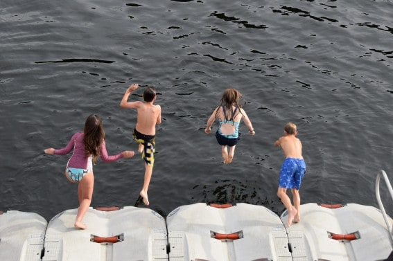 fun family vacations idea: Polar Bear Plunge into Alaska's frigid waters