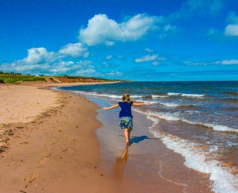 Cavendish Beach Prince Edward Island